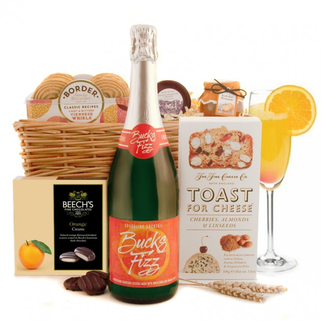 Hampers and Gifts to the UK - Send the Bucks Fizz Sparkling Cocktail Hamper