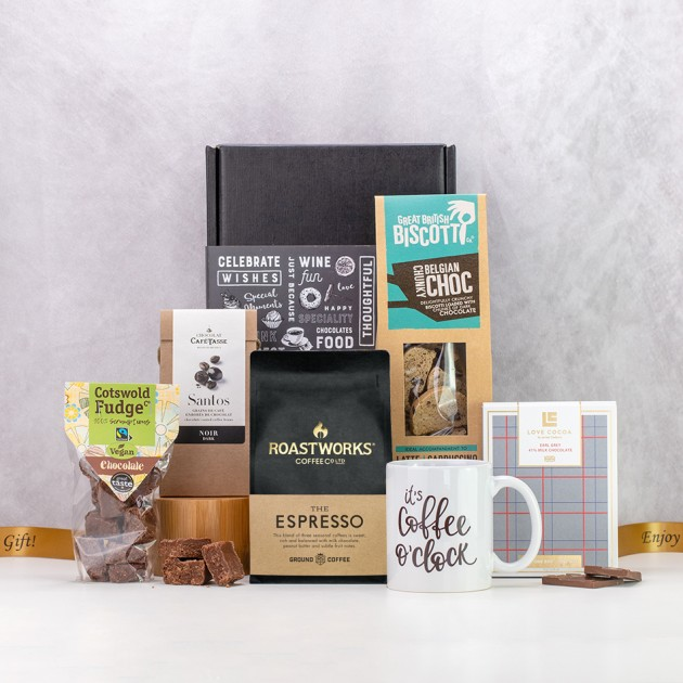 Hampers and Gifts to the UK - Send the It's Coffee O'Clock Hamper