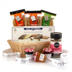 Hampers and Gifts to the UK - Send the Cookies and Preserve Gift Basket