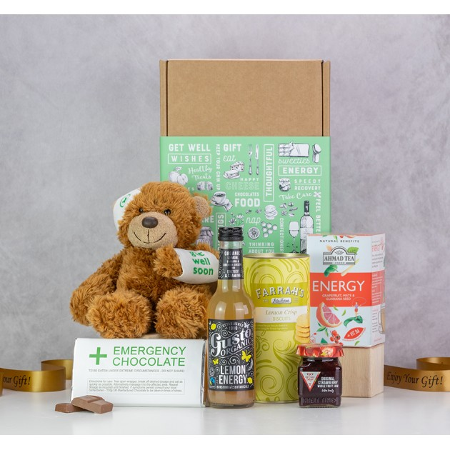 Hampers and Gifts to the UK - Send the Get Well Emergency Gift Hamper