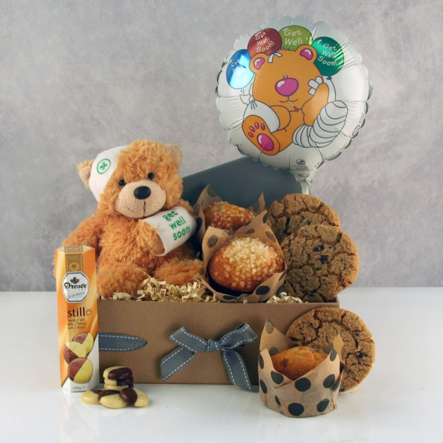Hampers and Gifts to the UK - Send the Get Well Soon Hugs