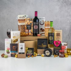 Hampers and Gifts to the UK - Send the Grand Indulgence Food and Wine Hamper