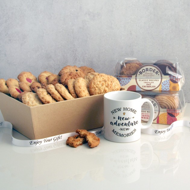 Hampers and Gifts to the UK - Send the Biscuit Favourites Hamper - NEW HOME ADVENTURE