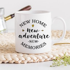 Hampers and Gifts to the UK - Send the New Home New Adventure Mug