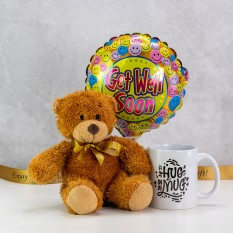 Hampers and Gifts to the UK - Send the Hug In A Mug Get Well Soon