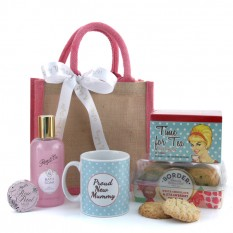 Hampers and Gifts to the UK - Send the Proud New Mummy Pamper Hamper
