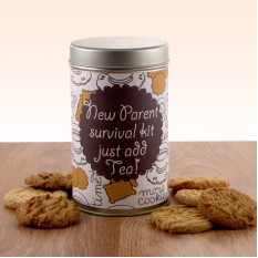 Hampers and Gifts to the UK - Send the Gift In A Tin - New Parent Survival Kit