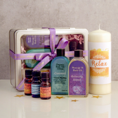 Hampers and Gifts to the UK - Send the Aromatherapy Wellbeing Gift Set