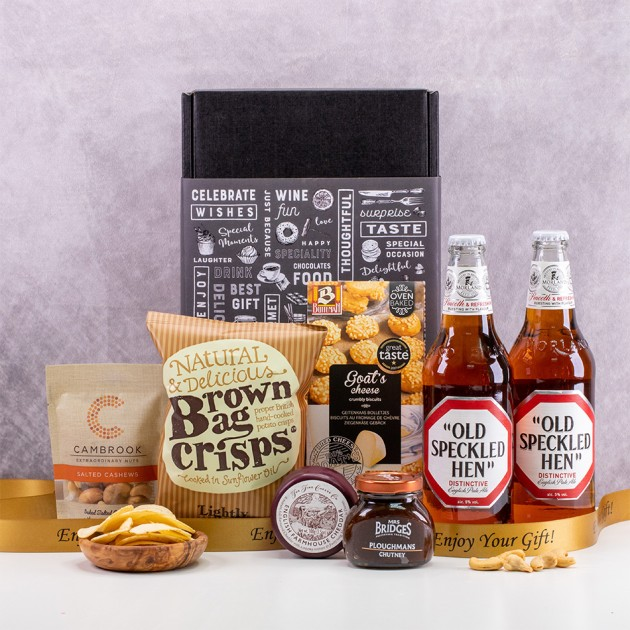 Hampers and Gifts to the UK - Send the The Old Speckled Hen Beer Box