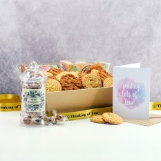 Hampers and Gifts to the UK - Send the Biscuit Favourites Hamper - WITH SYMPATHY