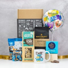 Hampers and Gifts to the UK - Send the Best Dad In The World Coffee Hamper
