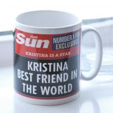 The Sun Newspaper Best Friend Mug