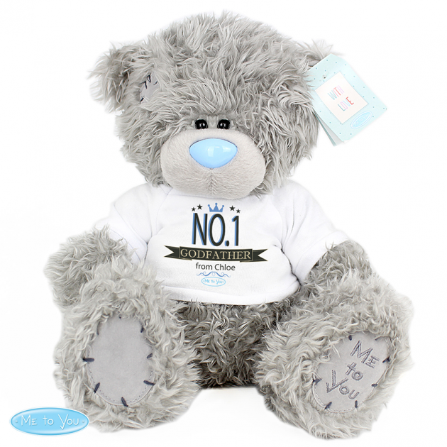 Hampers and Gifts to the UK - Send the Personalised Me To You Bear - No.1
