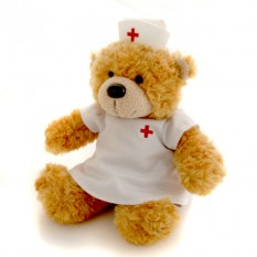 Hampers and Gifts to the UK - Send the Bonnie Nurse Bear by Aurora