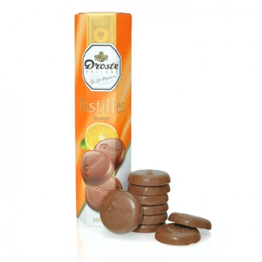 Hampers and Gifts to the UK - Send the Droste Orange Chocolate Pastilles