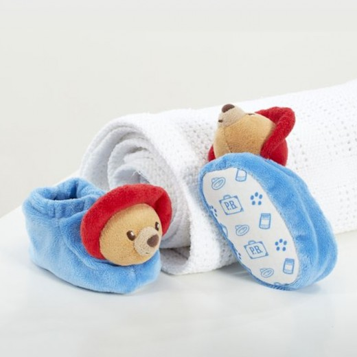 Hampers and Gifts to the UK - Send the Paddington Newborn Slippers