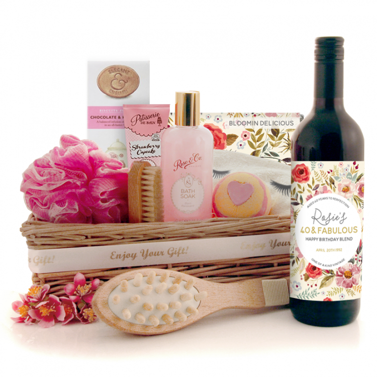 Pamper Hamper For Her Luxury Pampering Gift Ideas