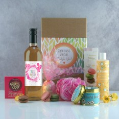 Hampers and Gifts to the UK - Send the You're Pretty Wine and Chocolate Pamper Hamper