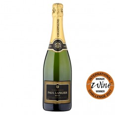 Hampers and Gifts to the UK - Send the Paul Langier Brut Champagne - 75cl