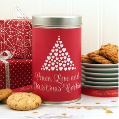 Hampers and Gifts to the UK - Send the Christmas Cookies Peace and Love