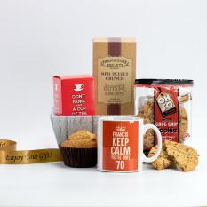 Hampers and Gifts to the UK - Send the Keep Calm Personalised Birthday Hamper
