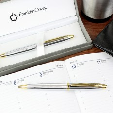 Hampers and Gifts to the UK - Send the Engraved Franklin Covey Pen and Pencil Set