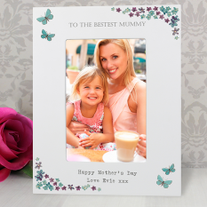 Hampers and Gifts to the UK - Send the Engraved Photo Frame | Forget Me Not 6 x 4