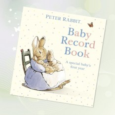 Hampers and Gifts to the UK - Send the Beatrix Potter Baby Record Book