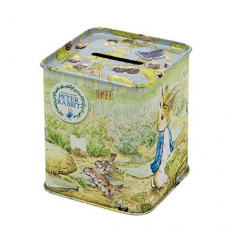 Hampers and Gifts to the UK - Send the Peter Rabbit Tin Money Box