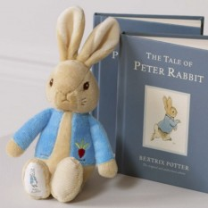 Hampers and Gifts to the UK - Send the My First Peter Rabbit Soft Toy