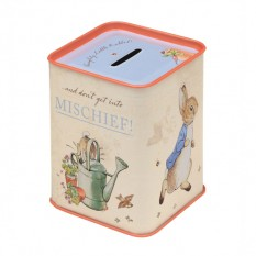 Hampers and Gifts to the UK - Send the Beatrix Potter Peter Rabbit Tin Money Box