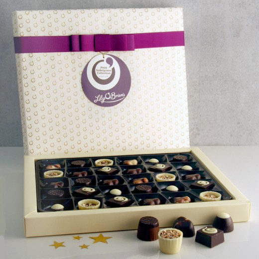 Hampers and Gifts to the UK - Send the Lily O'Brien Petit Chocolate Indulgence