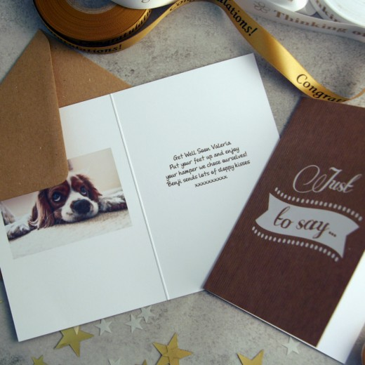 Hampers and Gifts to the UK - Send the Free Photo Card