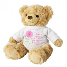 Hampers and Gifts to the UK - Send the Personalised I'd Pick You Teddy Bear