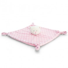Hampers and Gifts to the UK - Send the Baby Pink Teddy Blanket