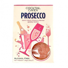 Hampers and Gifts to the UK - Send the Cocktail Candy - Prosecco Pink Fizz