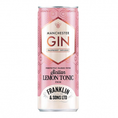 Hampers and Gifts to the UK - Send the Franklin & Sons Raspberry Infused Gin