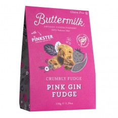 Hampers and Gifts to the UK - Send the Buttermilk Pink Gin Fudge
