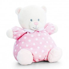Hampers and Gifts to the UK - Send the Baby Pink Puffball Bear