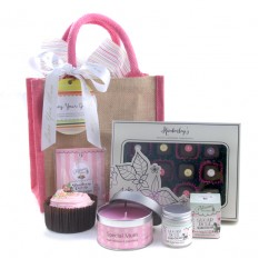 Hampers and Gifts to the UK - Send the Mum's Special Pink Sensation