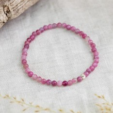 Hampers and Gifts to the UK - Send the Pink Tourmaline Bracelet