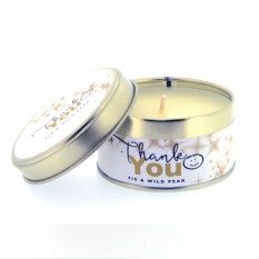 Hampers and Gifts to the UK - Send the Pintail Candles - Thank You