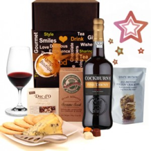 Hampers and Gifts to the UK - Send the  Port Stilton Hampers