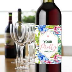 Hampers and Gifts to the UK - Send the You're Pretty Wine Gift
