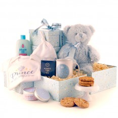 Hampers and Gifts to the UK - Send the * OUT OF STOCK * - The Prince Has Arrived Gift Tower