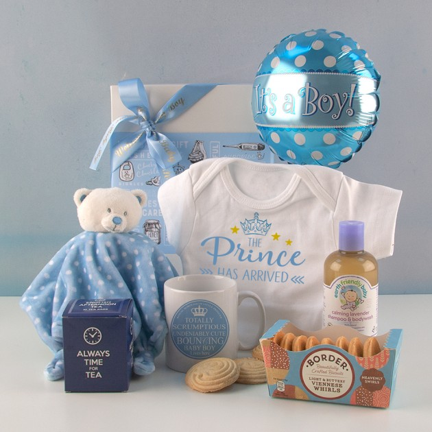 Hampers and Gifts to the UK - Send the The Prince Has Arrived Gift Set