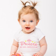 Hampers and Gifts to the UK - Send the The Princess Has Arrived Onesie