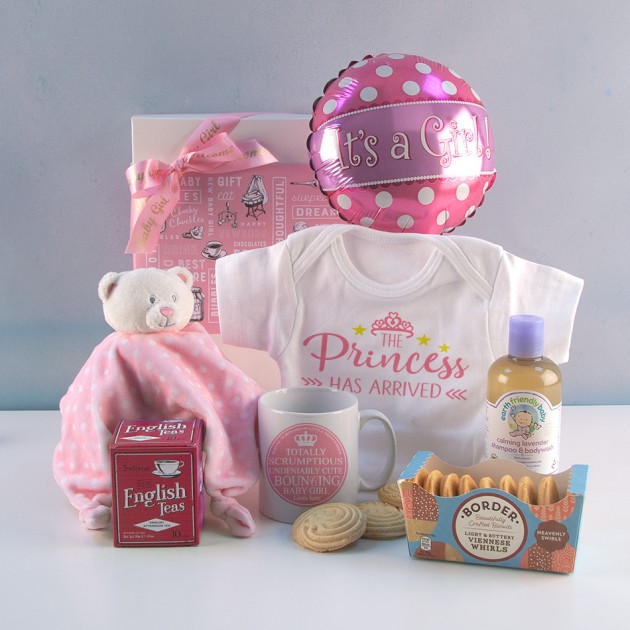 Hampers and Gifts to the UK - Send the The Princess Has Arrived Gift Set