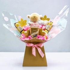 Hampers and Gifts to the UK - Send the The Princess Has Arrived Chocolate Bouquet