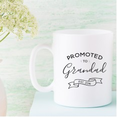 Hampers and Gifts to the UK - Send the Promoted to Grandad Mug